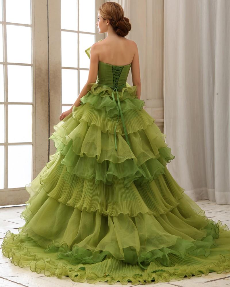 robi blog 9 zöld esküvői ruha